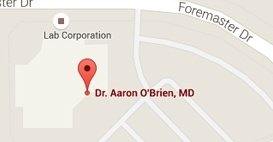 Contact -Aaron M. O'Brien, MD - Orthopedic Foot & Ankle Surgeon